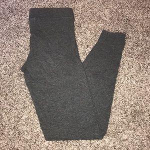 VS PINK gray cotton leggings size xs